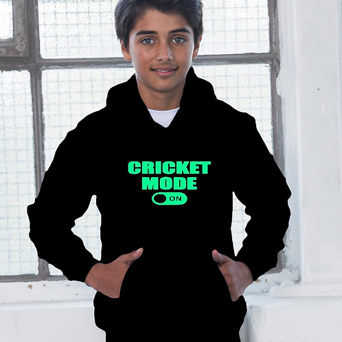 Cricket Mode On Children's Hoodie
