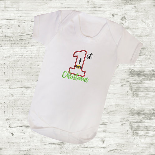 1st Christmas Body Suit