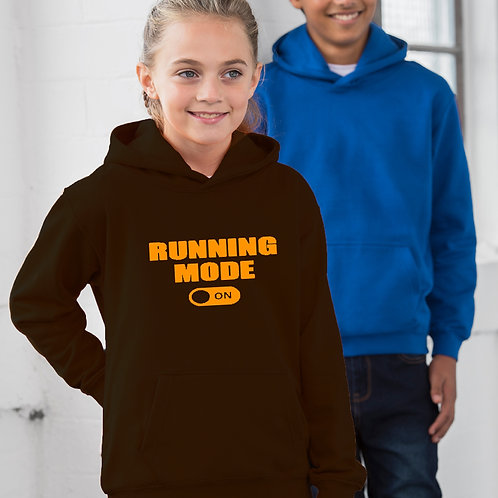 Running Mode On Children's Hoodie