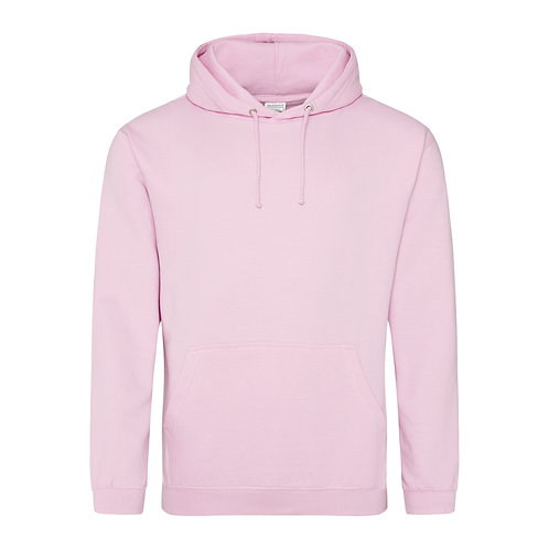AWDis College Hoodie (JH001) - Pink's