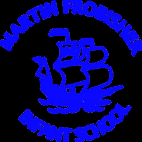 Printed School Logo - Martin Frobisher Infants School