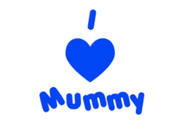 I Love Mummy Vinyl Design
