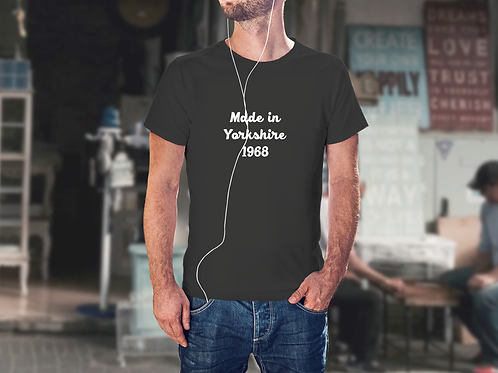 Made in ............... T-Shirt