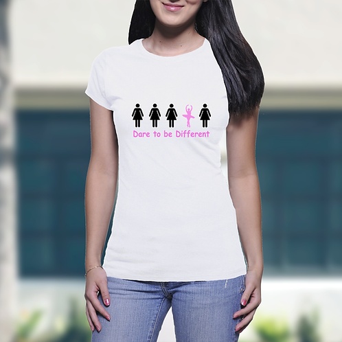 Dare to be Different - Girls T-Shirt