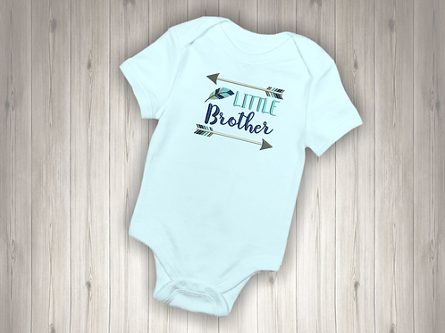 Little Brother Embroidered Baby Suit