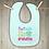 Thumbnail: Don't Make Me Call Grandma Embroidered Baby Bib
