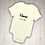 Thumbnail: Personalised Baby Bodysuit - Name & Date of Birth