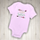 Thumbnail: Little Sister Embroidered Baby Suit