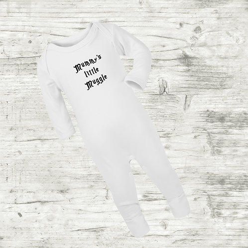Harry Potter Daddy's Little Muggle Sleep Suit