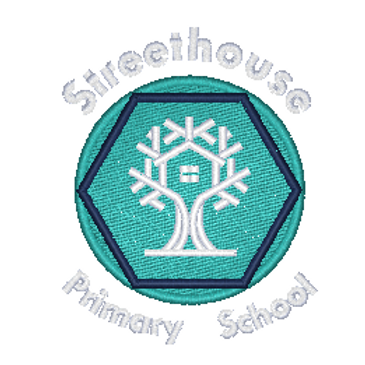 Embroidered School Logo - Streethouse Primary School