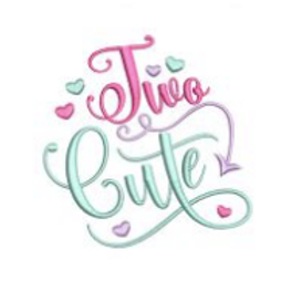 Two Cute Embroidery Design