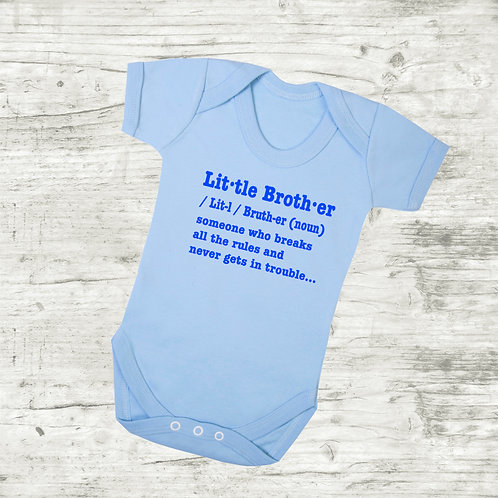 Little Brother Meaning Bodysuit