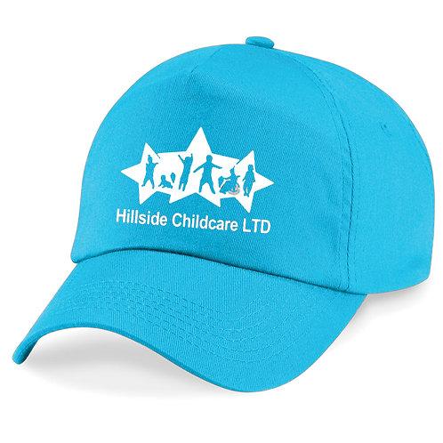 Hillside Children's Baseball Cap - Blue, Black, Grey & White