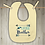 Thumbnail: Little Brother Embroidered Baby Bib