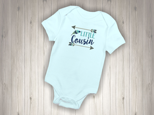 Little Cousin Embroidered Baby Suit
