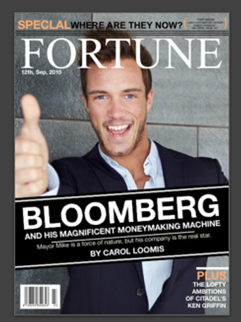 Personalised Fortune Magazine Cover