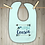 Thumbnail: Little Cousin Embroidered Baby Bib
