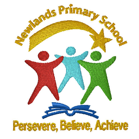 Embroidered School Logo - Newlands Primary School
