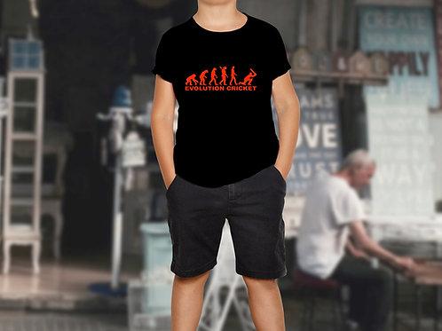 Evolution Cricket Children's Sports T-Shirt