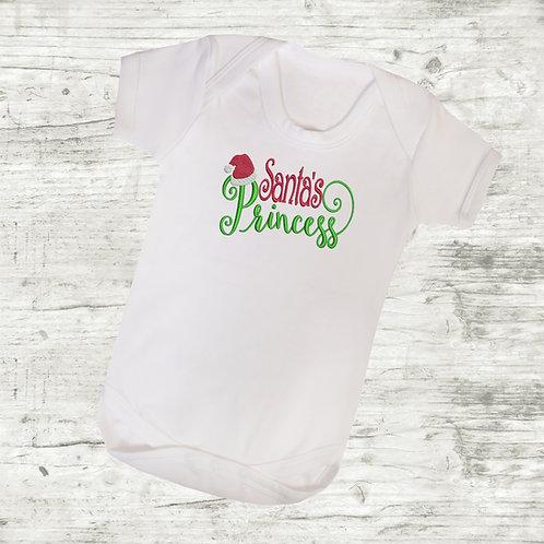 Santa's Princess Body Suit