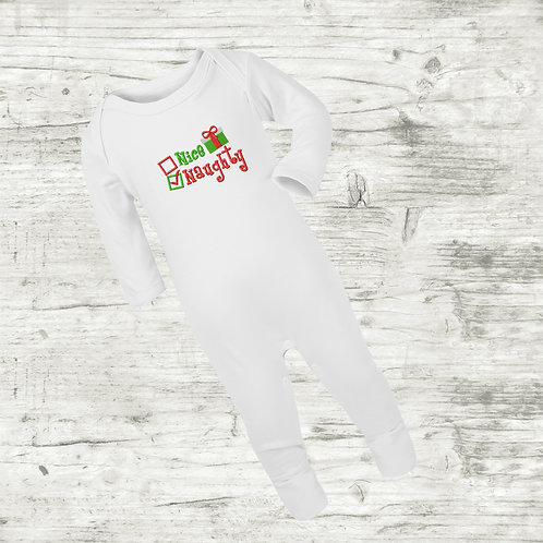 Nice / Naughty Sleep Suit