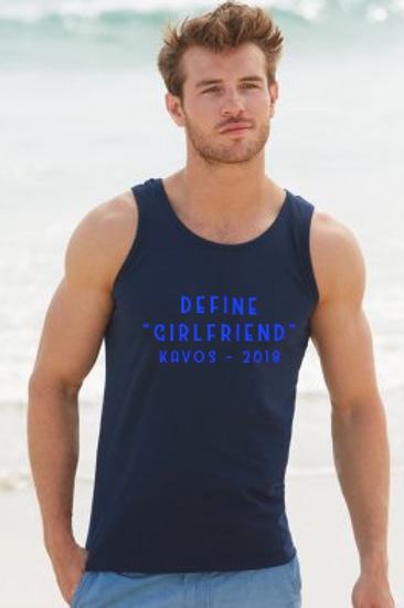 "Define ""Girlfriend"" Mens Holiday Athletic Vest Top"