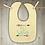 Thumbnail: Big Sister Embroidered Baby Bib