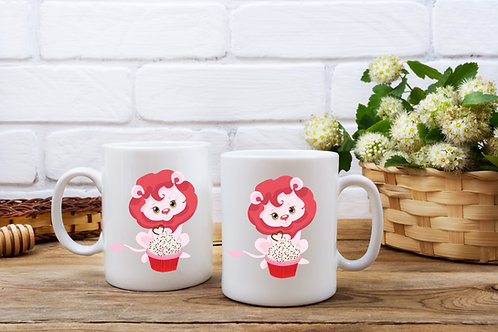 Personalised Cute Animal Mug