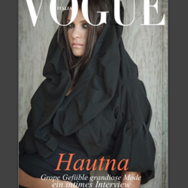 Personalised Vogue Magazine Cover