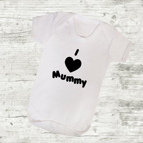 I Love Mummy Bodysuit