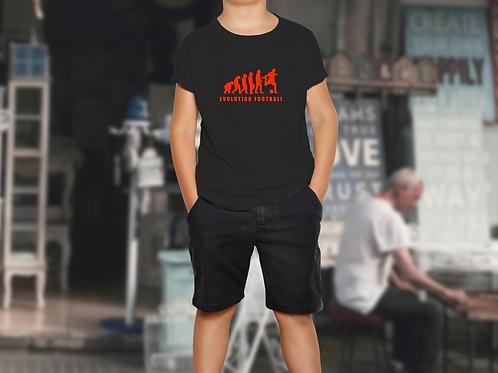 Boys Evolution Football Children's Sports T-Shirt