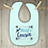 Thumbnail: Biggest Cousin Embroidered Baby Bib