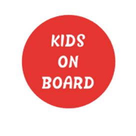 Kids On Board Car Sticker