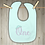 Thumbnail: One - Tiara Embroidered Baby Bib