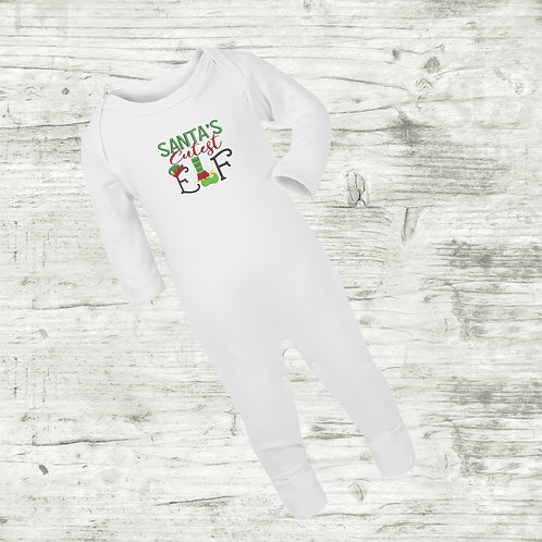 Santa's Cutest Elf Sleep Suit