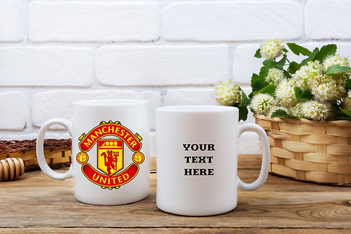 Manchester United FC Personalised Mug