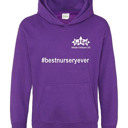 Hillside Pullover Hoodie - Purple's