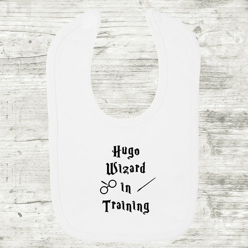 Harry Potter Wizard In Training with Name Bib