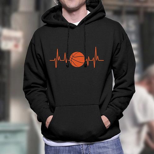 Heartbeat Basketball Hoodie