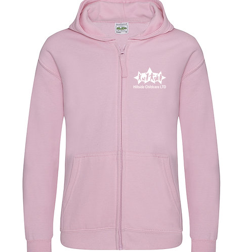 Hillside Childcare Children's Zipped Hoodie