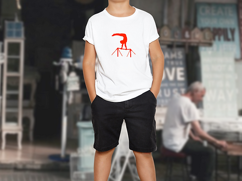 Gymnastics High Bars Children's Sports T-Shirt