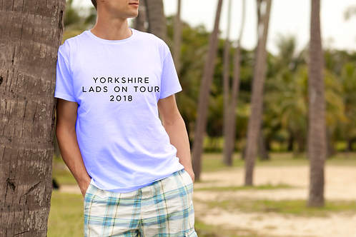 Lads on Tour Mens Holiday T-Shirt