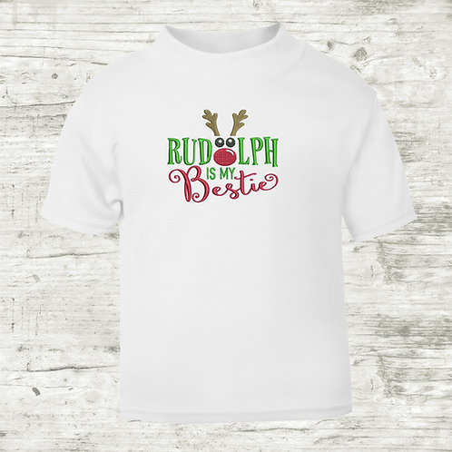 Rudolph Is My Bestie T-shirt