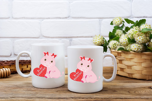 Personalised Cute Animal Mug