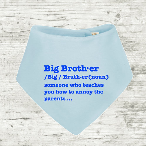 Big Brother Meaning Bib