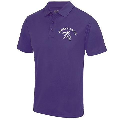 Personalised Equestrian UV30+ Polo Shirt