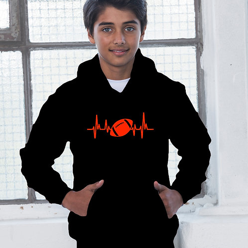 Heartbeat Rugby Children's Hoodie