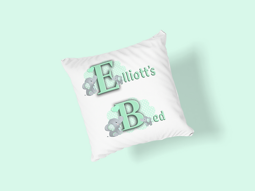 Supersoft Personalised Cushion - ........ Bed