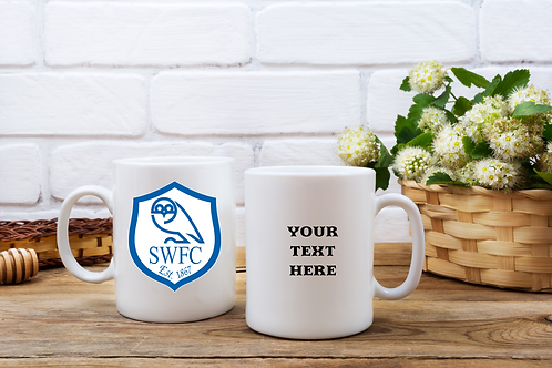Sheffield Wednesday FC Personalised Mug
