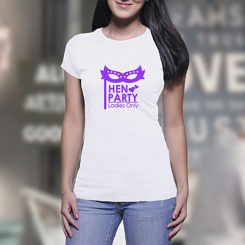 Ladies Only Hen Party T-Shirt